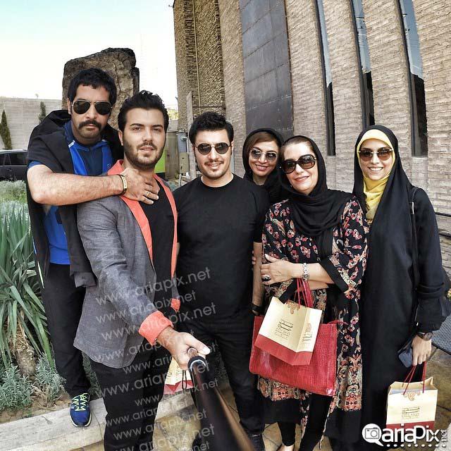 عکس سلفی بازیگران ایرانی