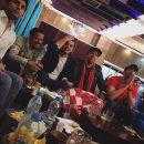 دانلود فیلم شادی علی ضیا و جمعی از هنرمندان بعد از بازی استقلال و پرسپولیس