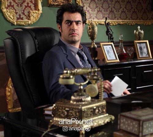 شهاب حسینی در شهرزاد 2 در نقش قباد