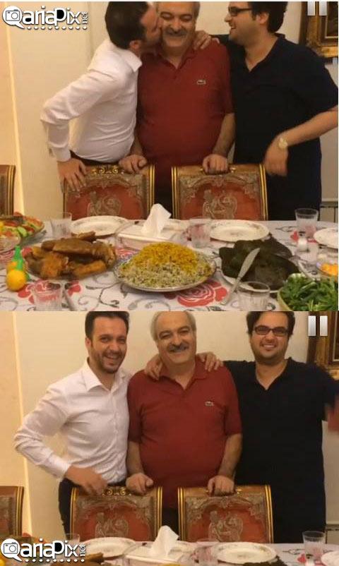 عکس / محمد سلوکی و  برادرش مهدی سلوکی  و پدرشان