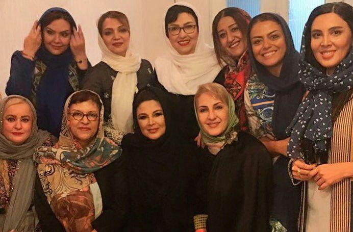 بازیگران زن در کنسرت شهره سلطانی