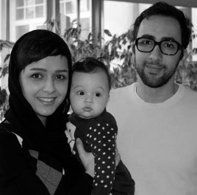 عکس جدید ترانه علیدوستی بازیگر زن ایرانی به همراه همسرش و فرزندش,شوهر ترانه علیدوستی