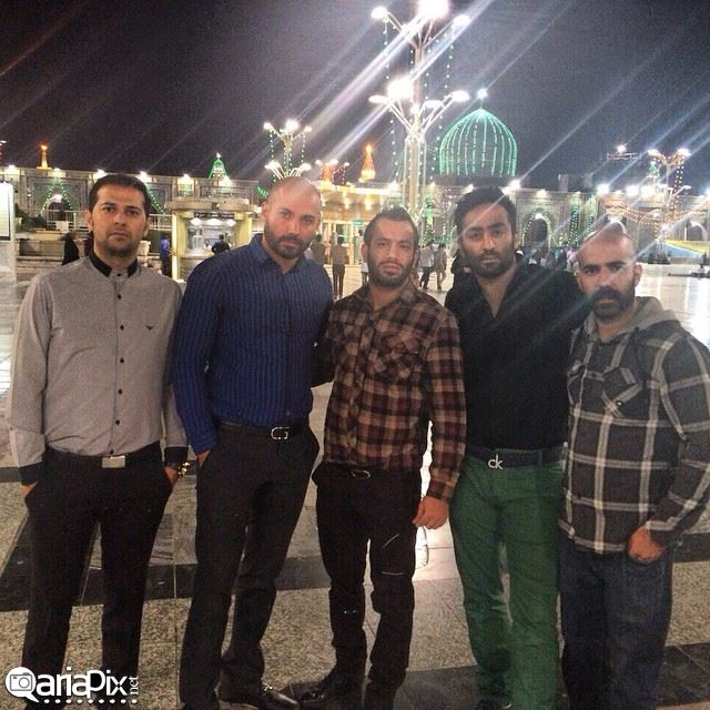 عکس امیر تتلو در مشهد