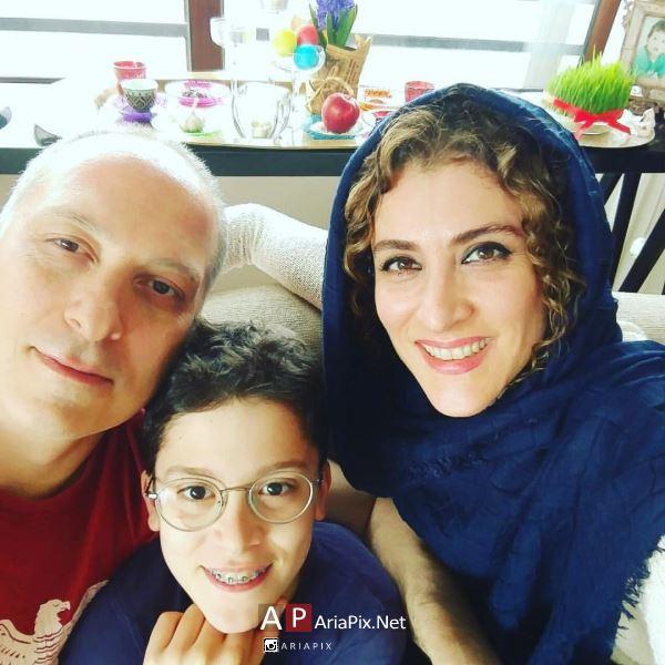 ویشکا آسایش و همسرش رضا قبادی