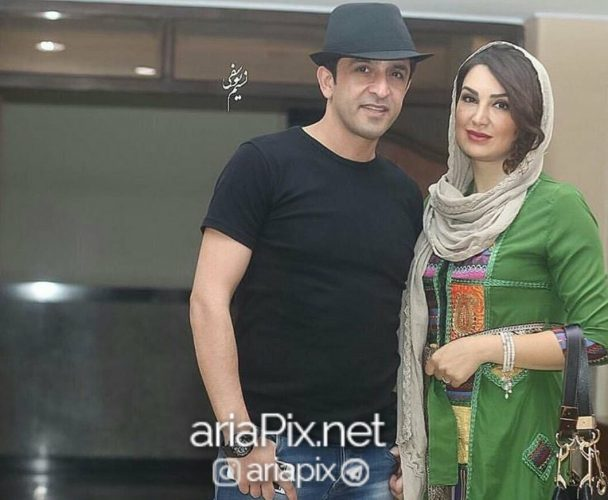 عکس مجید یاسر و همسرش