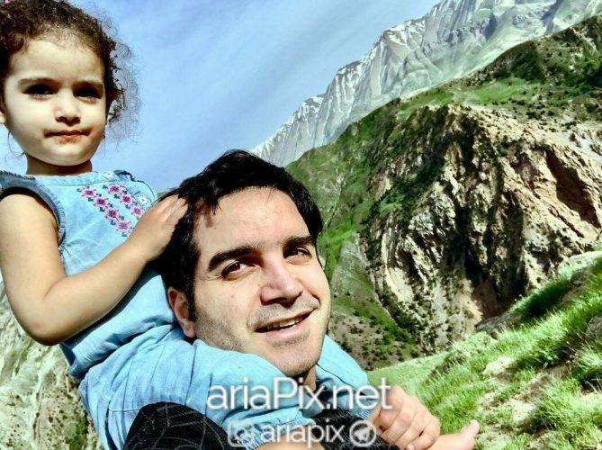 محسن یگانه و دخترش نگاه یگانه