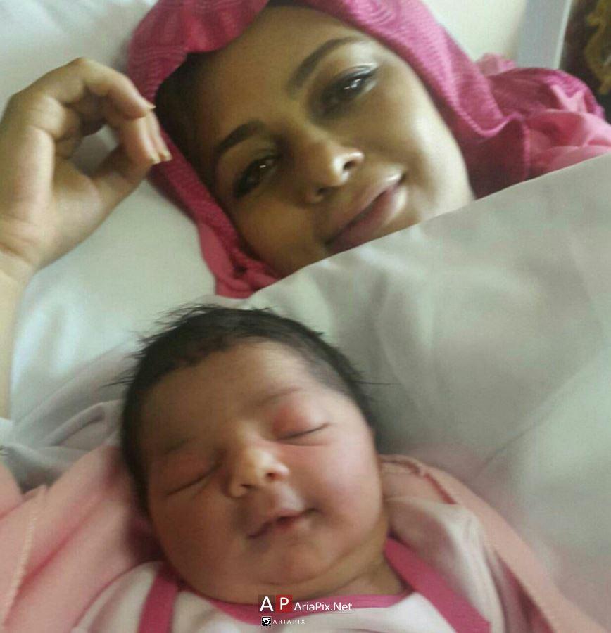عکس یکتا ناصر و فرزندش , یکتا ناصر و دخترش
