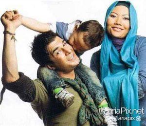 یوسف تیموری و همسرش